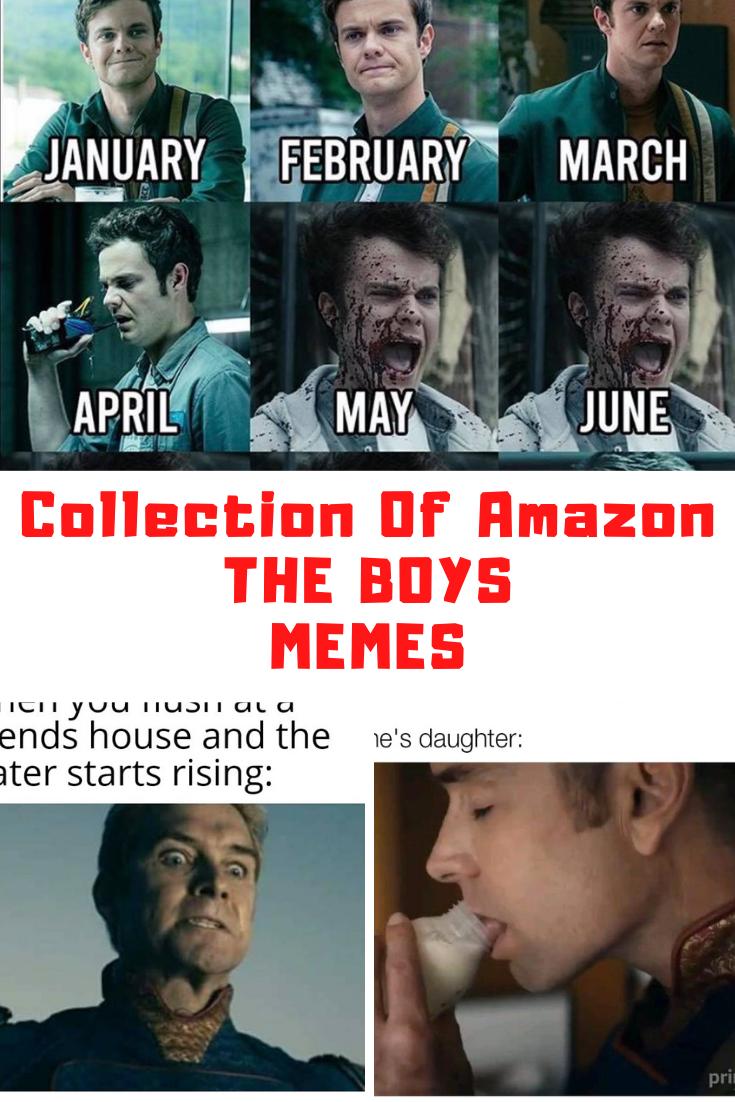 Amazon The Boys Memes