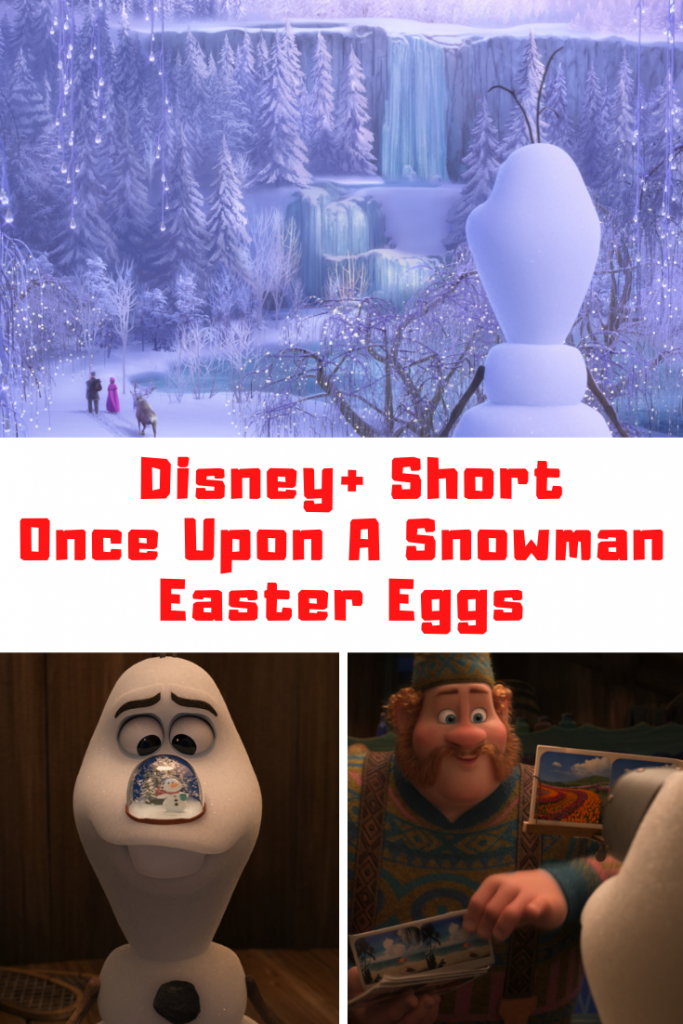 Once Upon A Snowman Easter Eggs