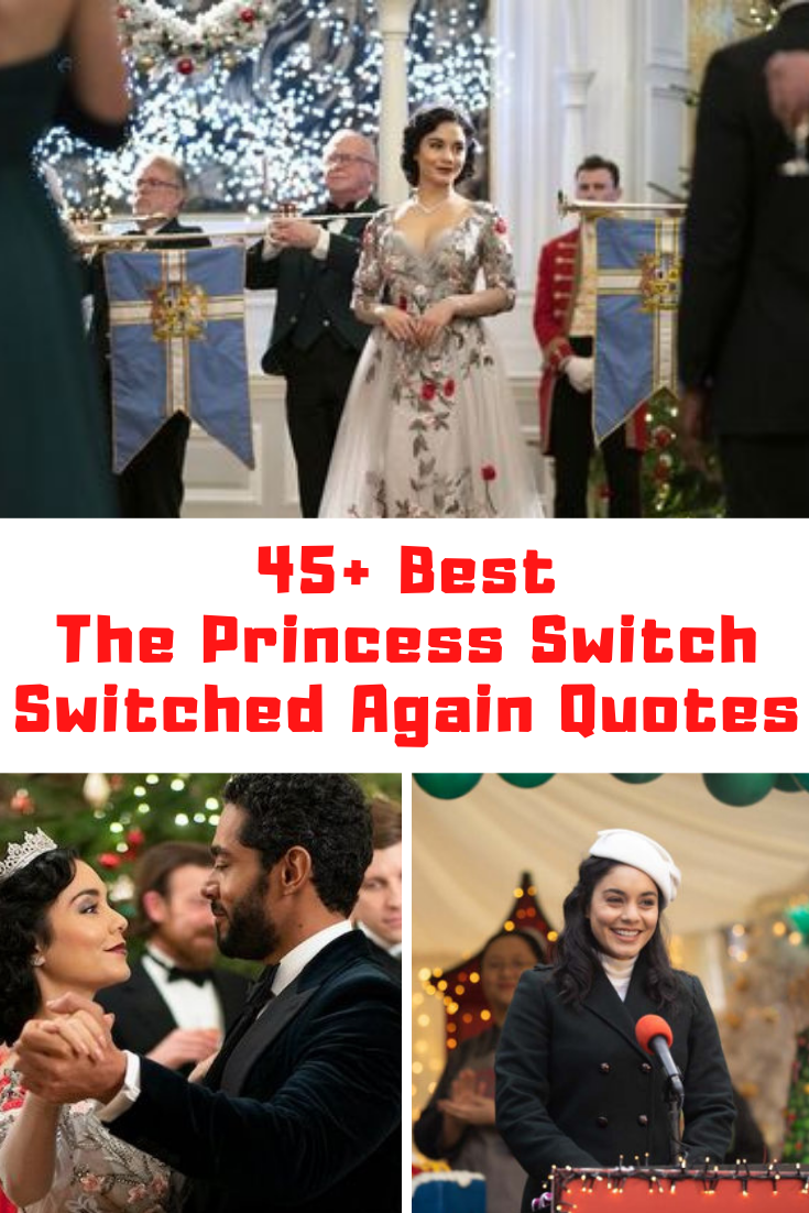 The Princess Switch: Switched Again Quotes