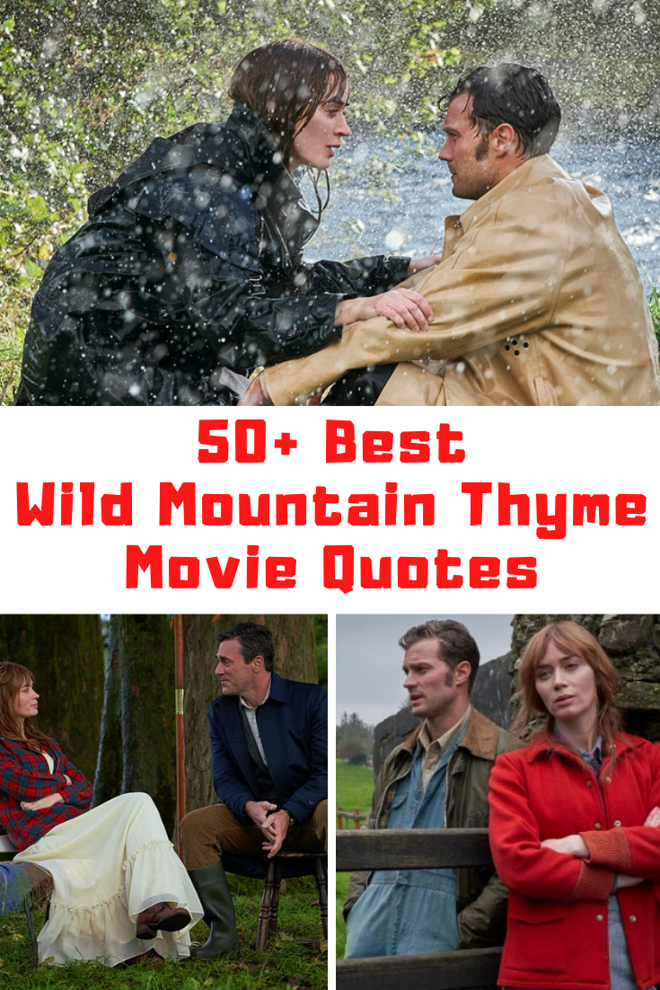 Wild Mountain Thyme Movie Quotes