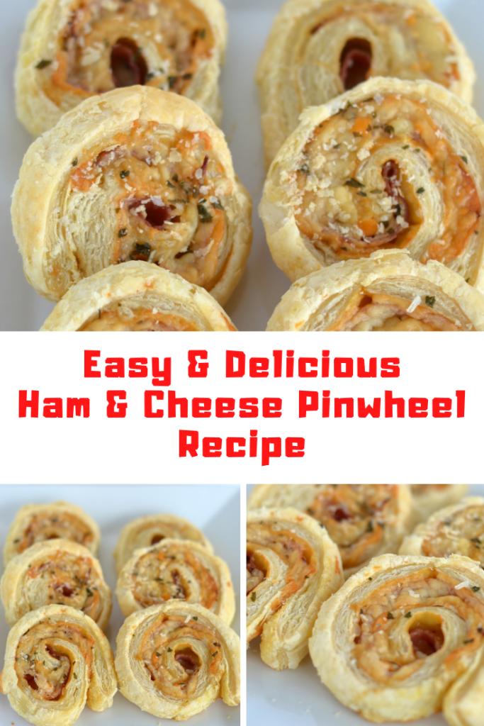 Ham and Cheese Pinwheel Recipe
