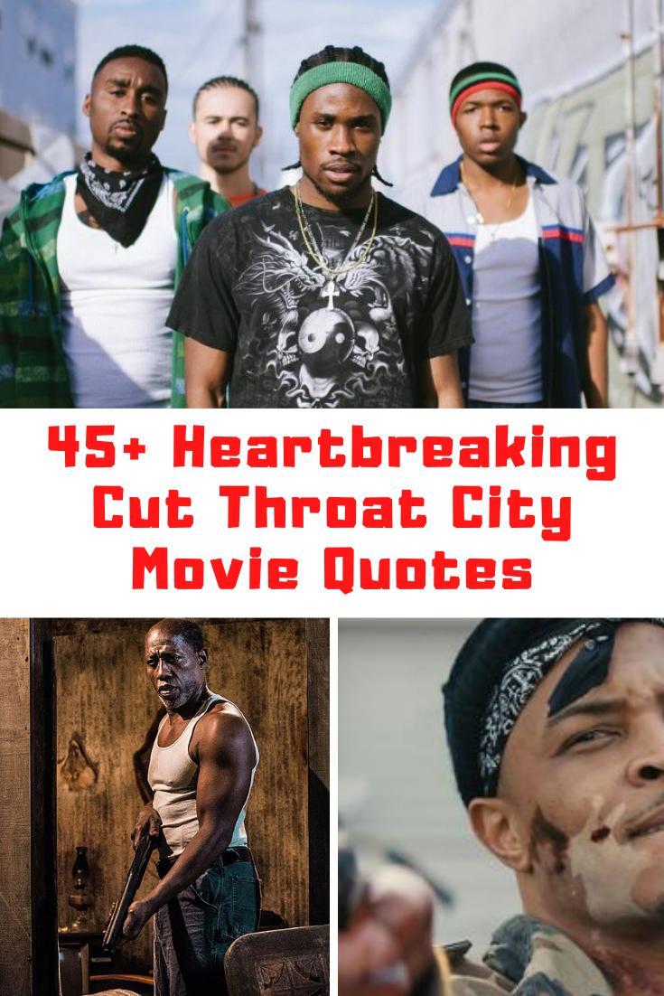 Cut Throat City Quotes