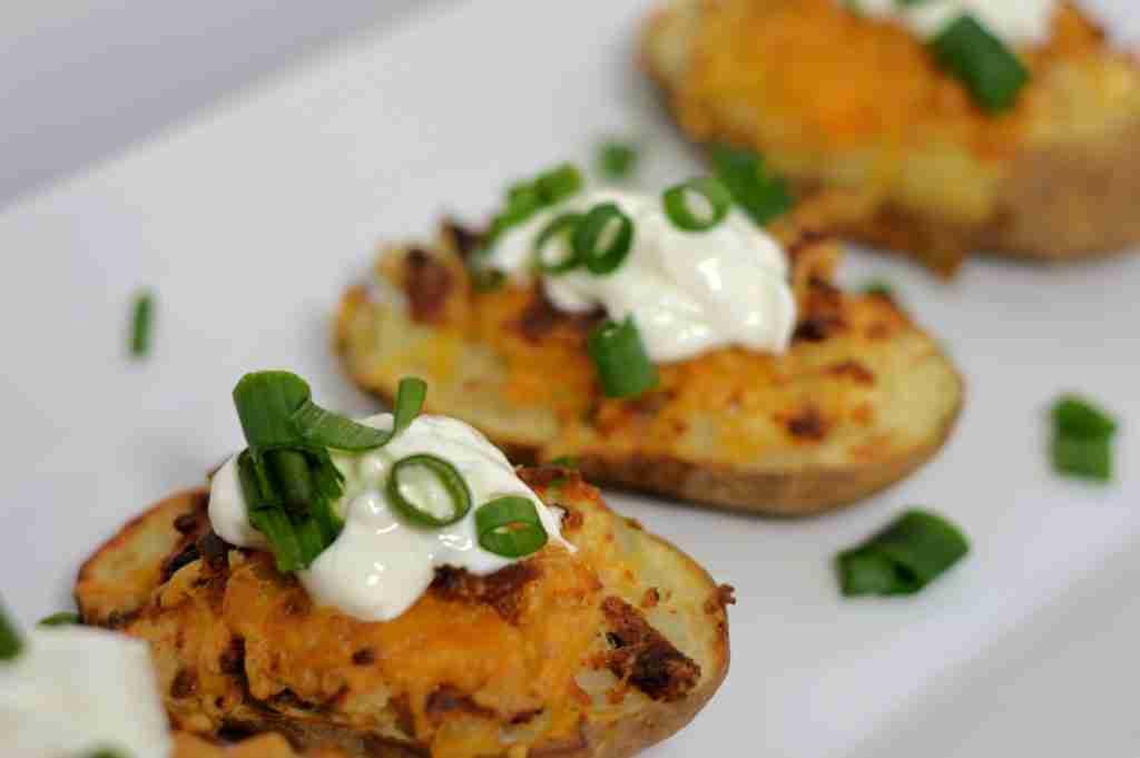 Air Fryer Potato Skins Recipe