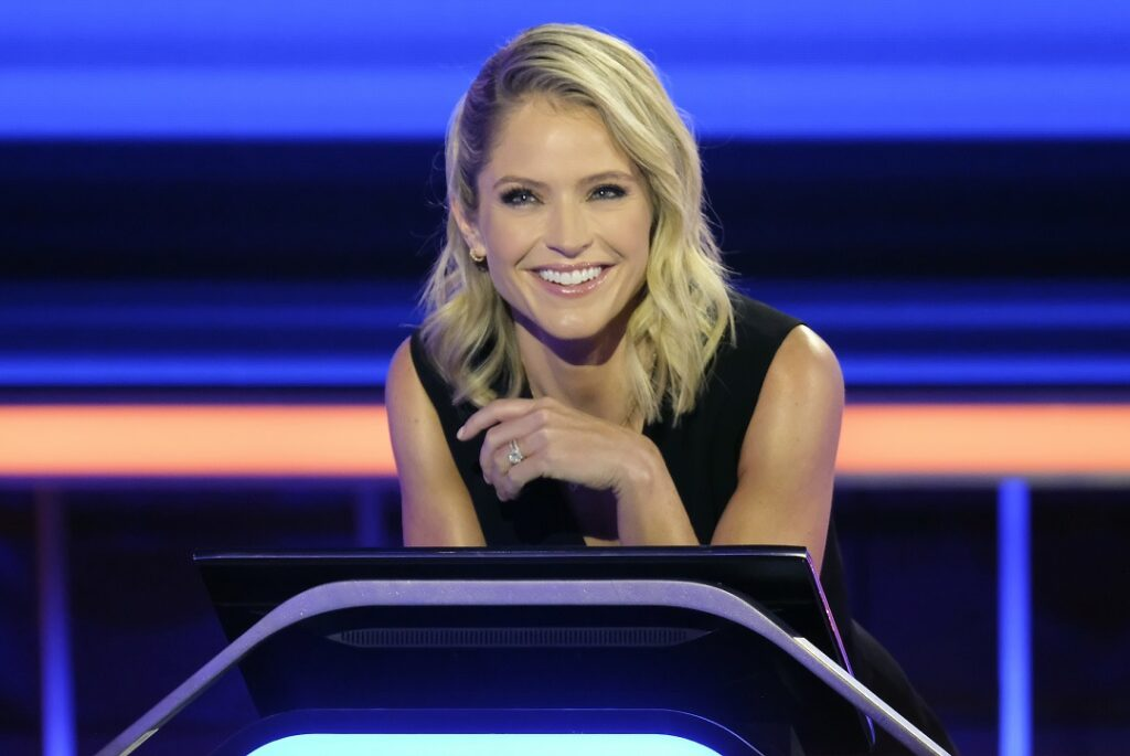 The Chase Host Sara Haines