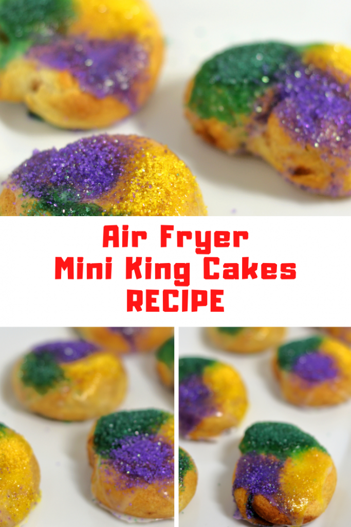 Air Fryer Mini King Cakes Recipe