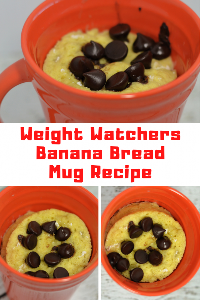 Weight Watchers Banana Bread Mug Recipe