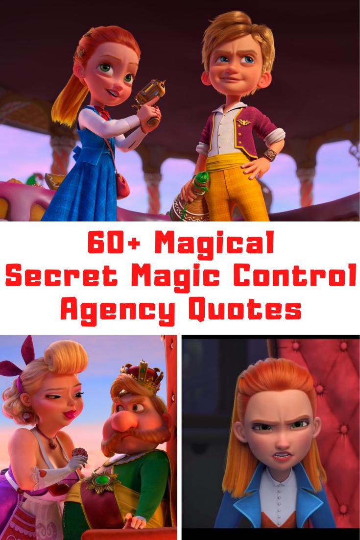 Secret Magic Control Agency Movie Quotes