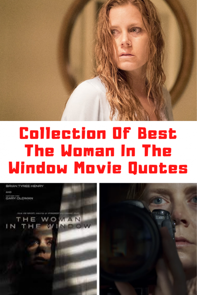 The Woman In The Window Quotes