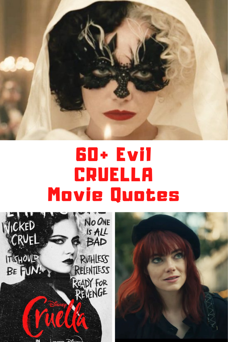 Cruella Movie Quotes