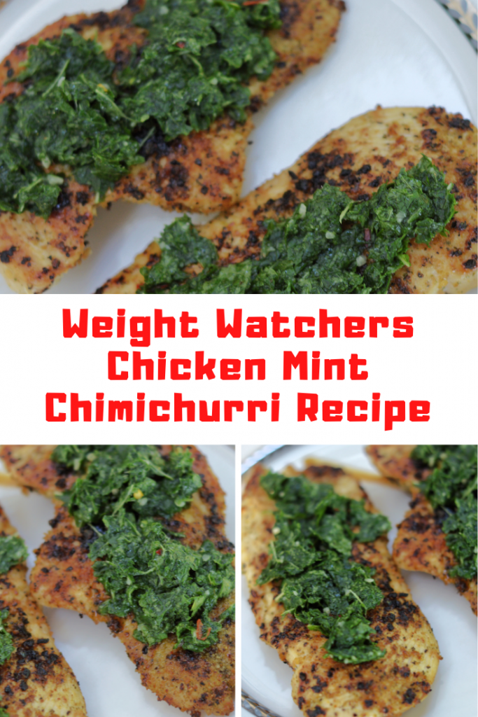 Blackstone Griddle Chicken With Mint Chimichurri Recipe