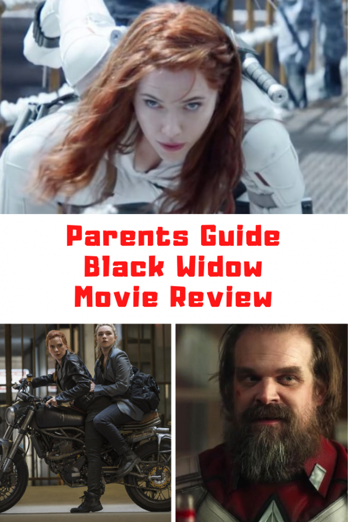 Black Widow Parents Guide