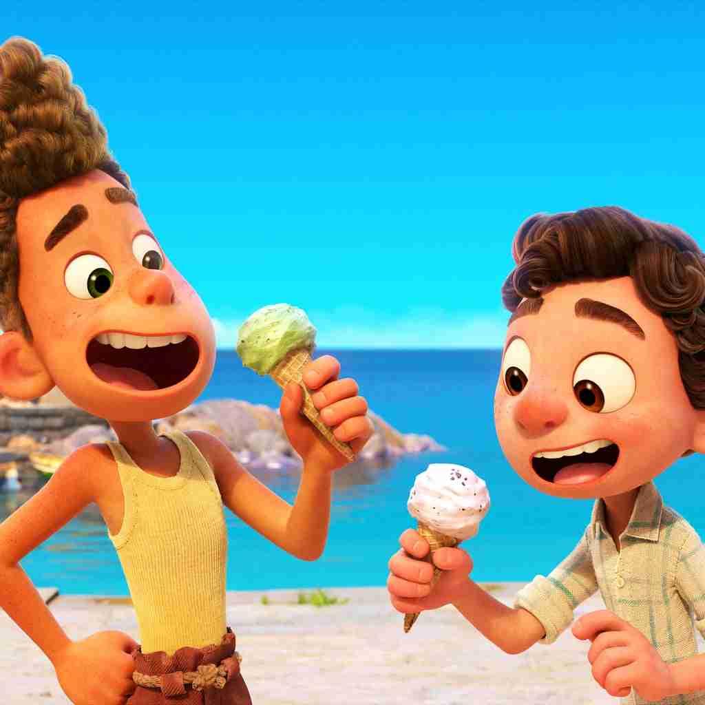 Pixar LUCA Easter Eggs