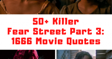 Fear Street Part Three: 1966 quotes