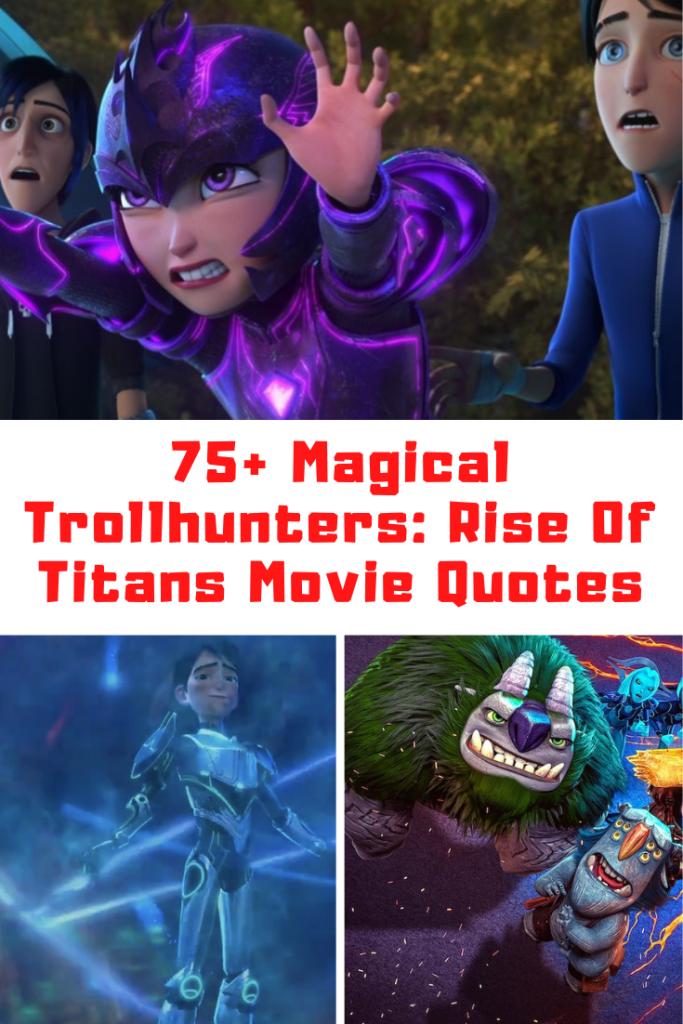 Trollshunters: Rise Of The Titans Quotes