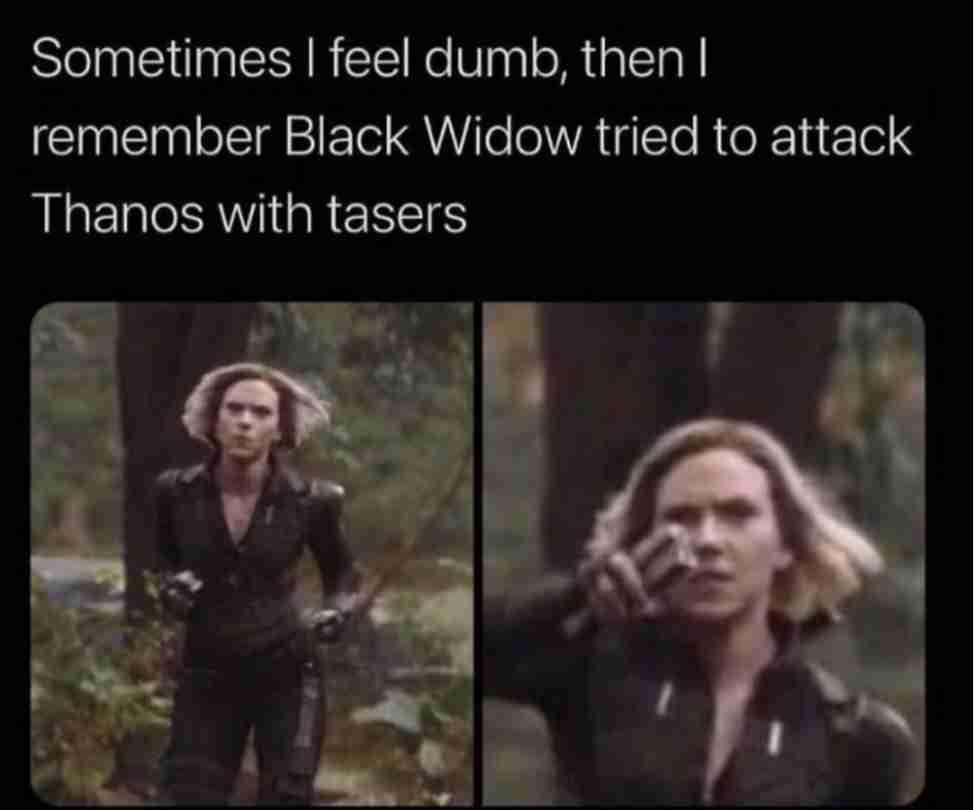 Black Widow Memes