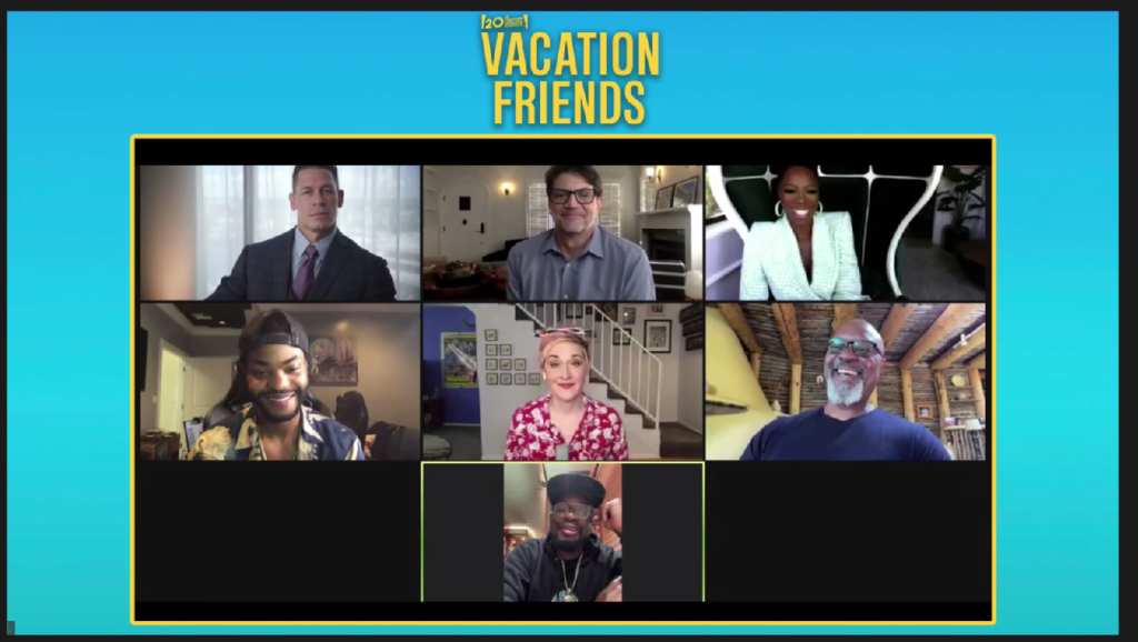 VACATION FRIENDS Cast