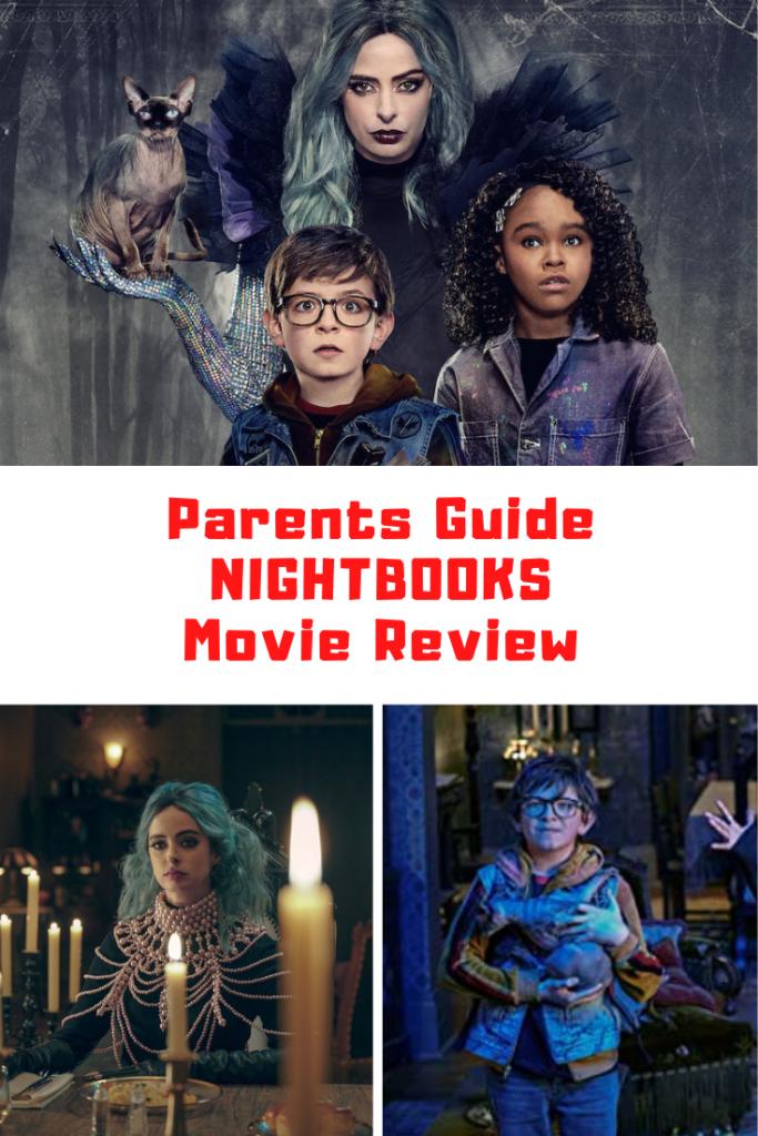 Nightbooks Parents Guide
