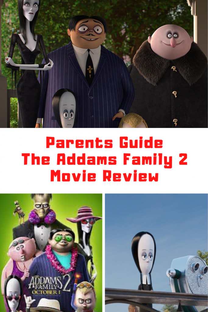 The Addams Family 2 Parents Guide