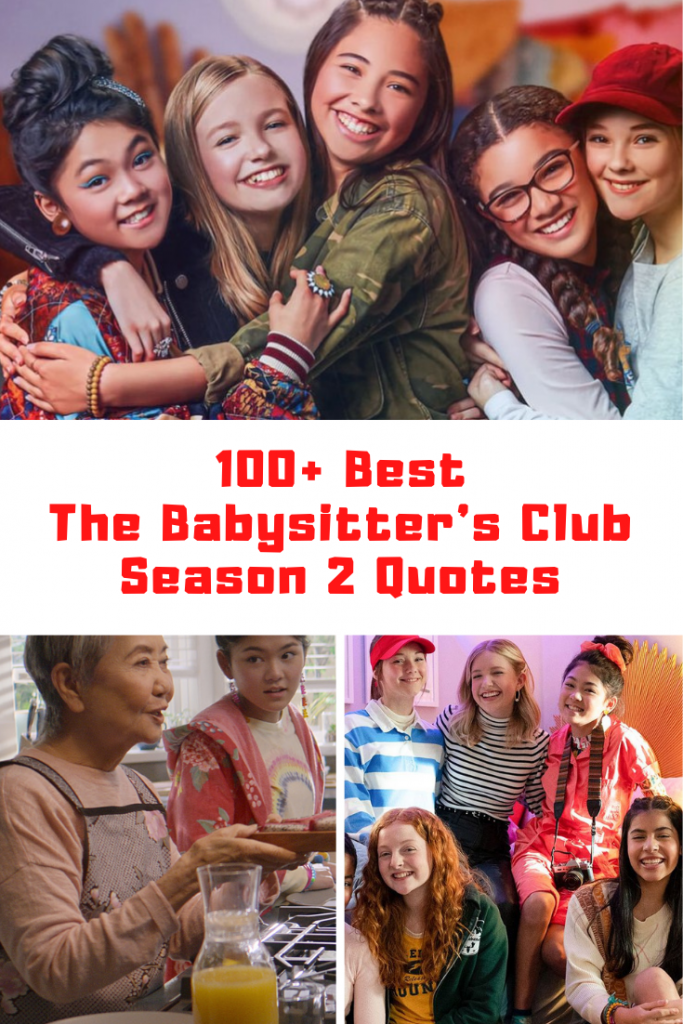 The Babysitter's Club Season 2 Quotes