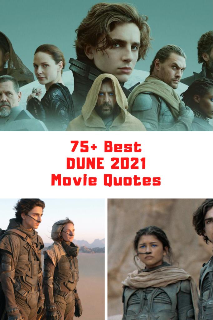 Dune Movie Quotes